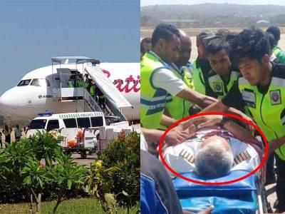 pilot batik air pingsan pesawat terpaksa mendarat darurat