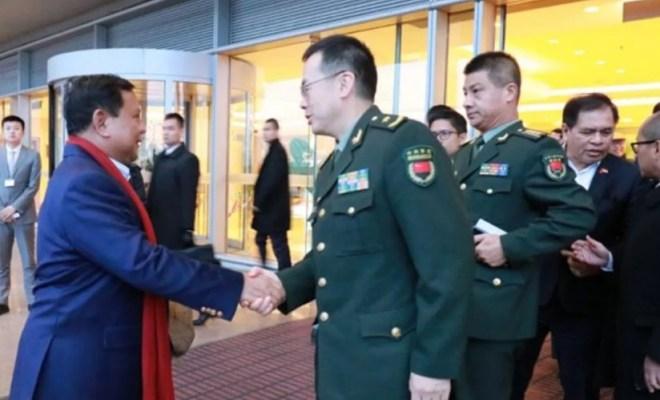 Lanjutkan Kerjasama Pertahanan, Menhan Prabowo Subianto Terbang ke China