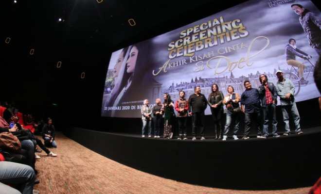 Animo Membeludak, 1000 Tiket Film 'Akhir Kisah Cinta Si Doel' Ludes Serentak di Belanda