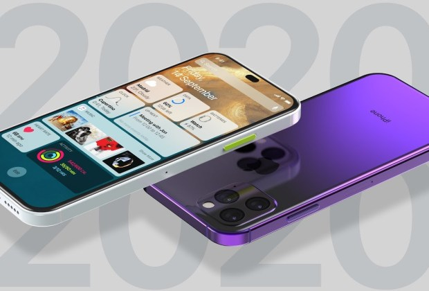 Iphone 2020 Concept