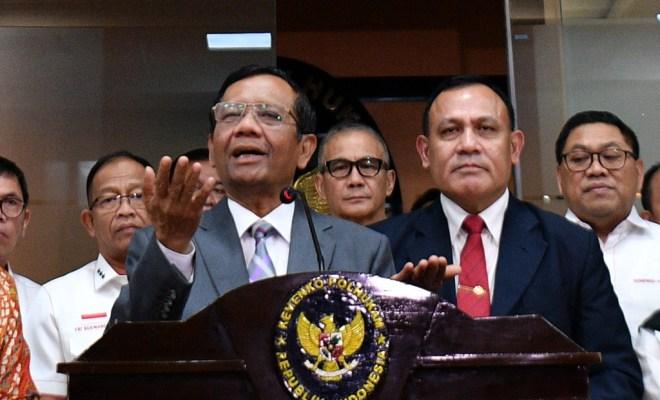 Mahfud Md tengarai Pelaku Korupsi Jiwasraya dan Asabri Sama