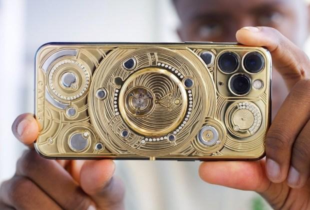 Penampakan iPhone Termahal di Dunia, Harganya Rp1,3 Miliar