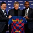 Quique Setien Pelatih Baru Barcelona
