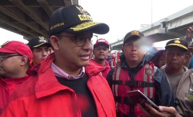 Soal Banjir DKI, Anies: Kami Tanggung Jawab, Tak Ingin Salahkan Siapa pun