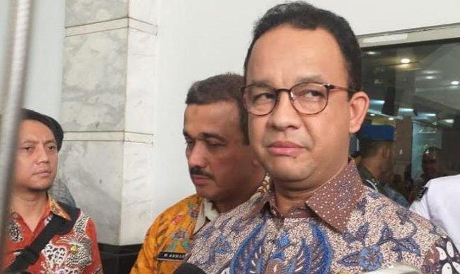 Soal Omnibus Law Anies Pilih Bungkam