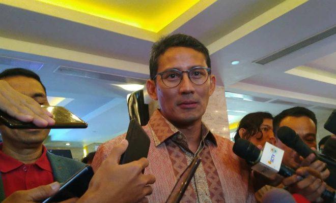 Sambut 'Ramalan' Jokowi, Sandiaga Uno Siap Nyapres 2024 Asal Lawannya Bukan Prabowo
