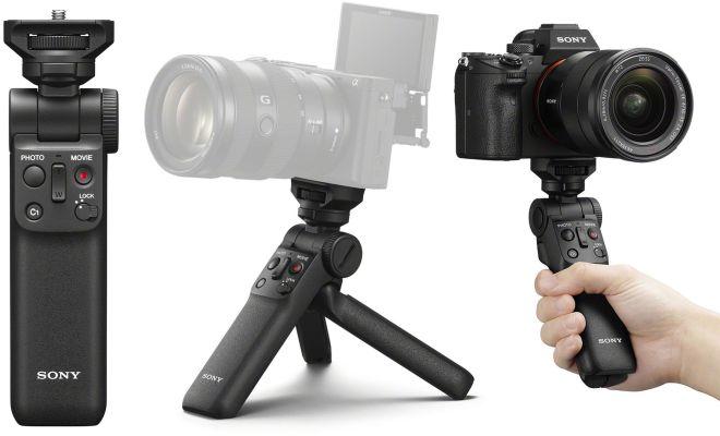 Sony Rilis Grip GP-VPT2BT Versi Mewah-Murah, Cocok untuk Kreator Konten