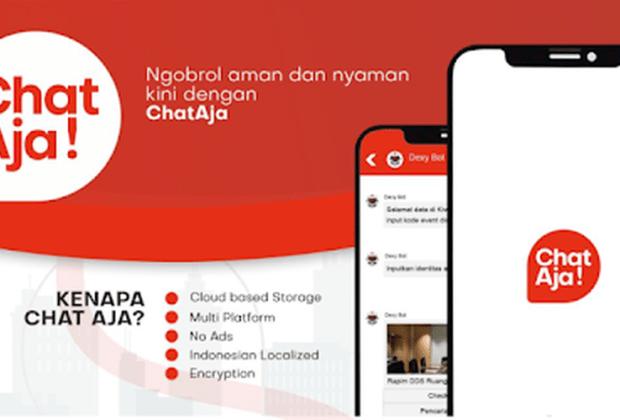 Aplikasi ChatAja Buatan Anak Bangsa