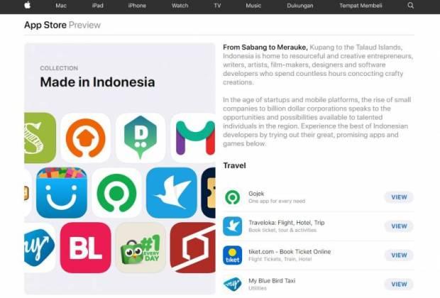 Aplikasi Made In Indonesia From Apple