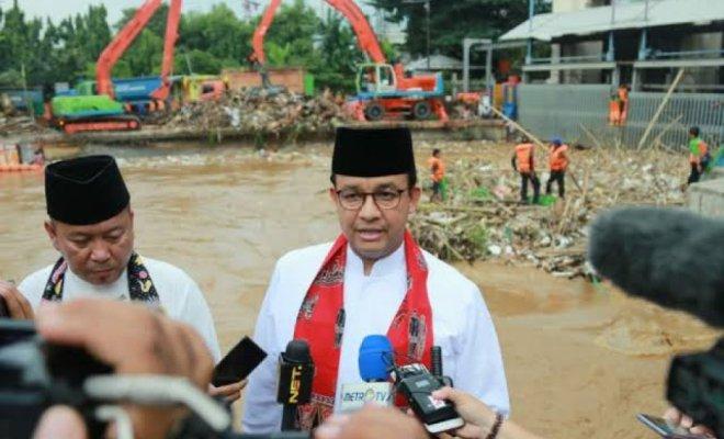 Banjir Kembali Genangi Jakarta, ini Instruksi dan Info Terkini Anies Lewat Facebook