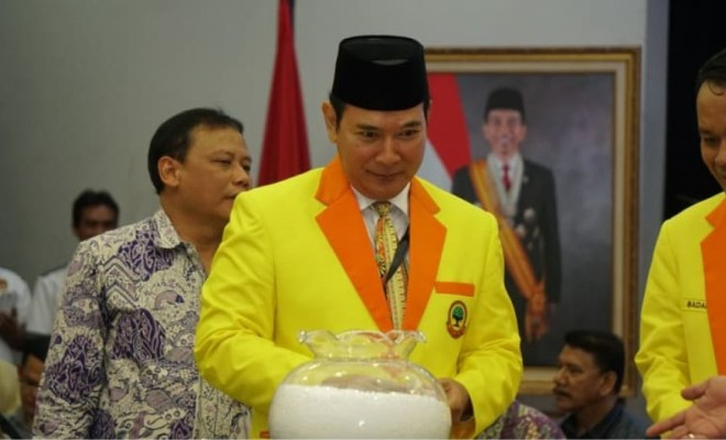 TIKTAK.ID - Tak Sejalan dengan Tommy Soeharto, Kader Partai Berkarya Dukung Jokowi