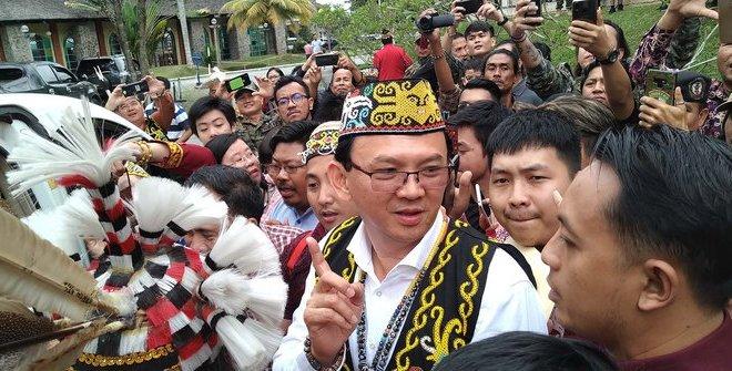 Warga Dayak Berharap Jokowi Pilih Ahok Jadi Kepala Ibu Kota Baru, Ini Alasannya