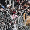 Yunani Halau Ribuan Imigran Suriah dari Turki