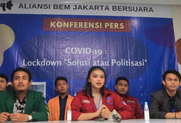 Aliansi BEM Jakarta: Kebijakan Anies Baswedan Tangani Corona Bernuansa Politis Bukan Solutif