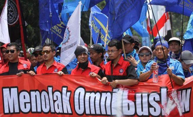 Buruh Ancam Gelar Demo Jutaan Orang di Tengah Pandemi jika Jokowi Tak Segera Tarik Omnibus Law Ciptaker dari DPR