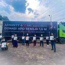 Ikut Galang Donasi, Ashanty Kumpulkan Rp1,5 Miliar untuk APD Tenaga Medis