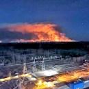 Kebakaran Hutan Dekat Pembangkit Nuklir Chernobyl, Picu Kekhawatiran Penyebaran Radiasi
