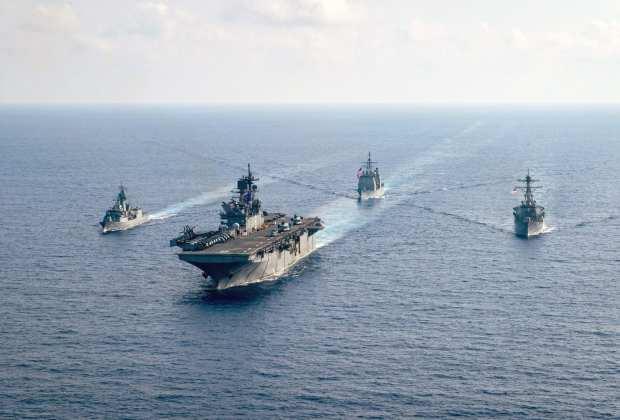 TIKTAK.ID - Provokatif Terobos Batas Wilayah dan Langgar Kedaulatan, Kapal Perang AS Langsung Diusir Militer China