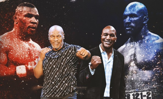 Duel Comeback Jilid 3 Tyson vs Holyfield Bukan Sekadar Rumor?