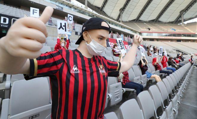 Gantikan Peran Penonton, FC Seoul Letakkan Boneka di Tribun