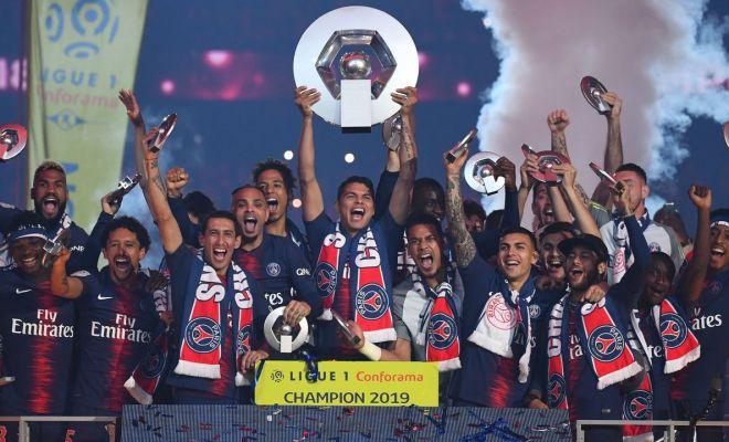 PSG Resmi Jadi Juara Usai Ligue 1 2019/2020 Diputuskan Berhenti