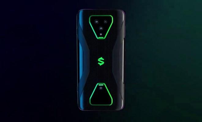 Ponsel Gaming Black Shark 3