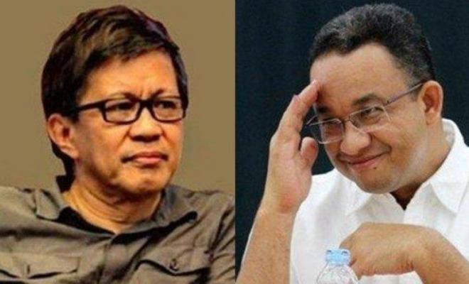 Sejumlah Menteri Jokowi Kompak Serang Anies, Rocky Gerung: Saya Gak Pro Anies, Tapi itu Seperti Menggarami Laut