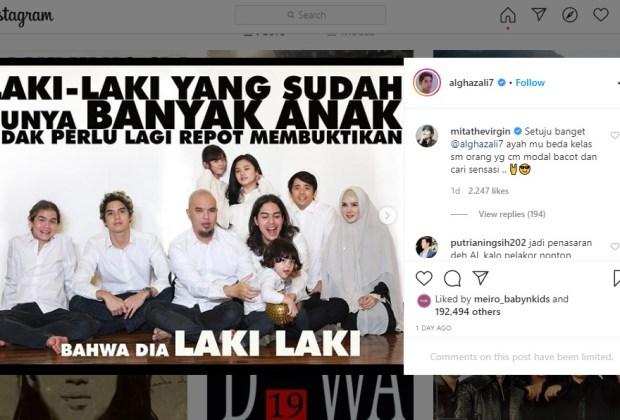 Tak Terima Ahmad Dhani Dianggap Tak Jantan, Al Ghazali Sindir Menohok Jerinx SID