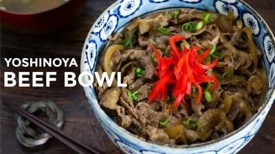 Anda Penyuka Makanan Jepang? Saatnya Coba Resep Beef Bowl ala Yoshinoya