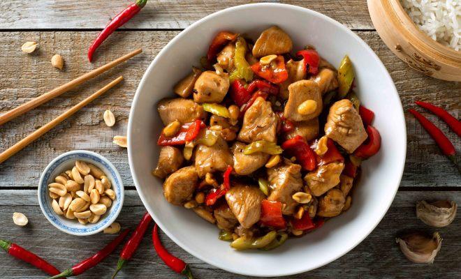 Resep Ayam Kung Pao Khas Szechuan