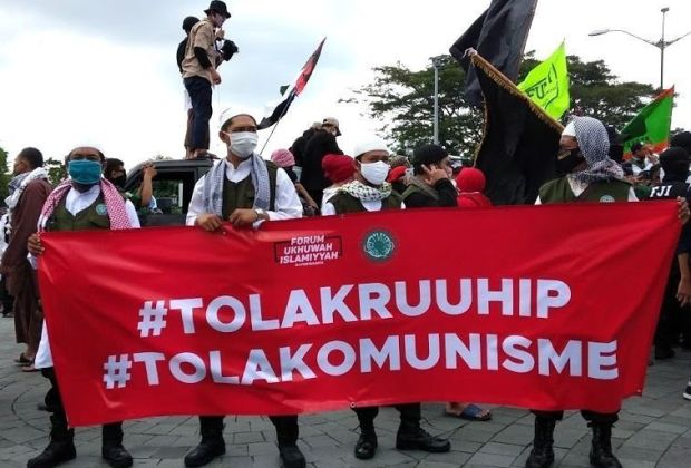 Demo Tolak RUU HIP, Orator: Tangkap Inisiator, Mereka Bakal Membuat Kita Sengsara