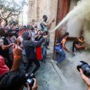 Demo Tuntut Kebrutalan Polisi di Meksiko Berujung Rusuh