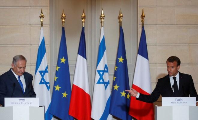 Presiden Prancis Desak Israel Batalkan Aneksasi Tepi Barat