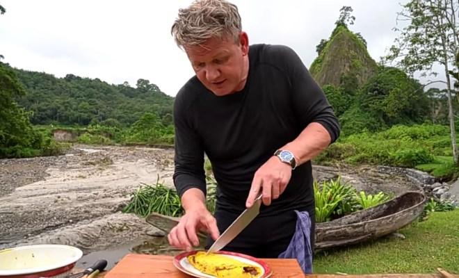 Gordon Ramsay Berbagi Resep Omelet Rendang