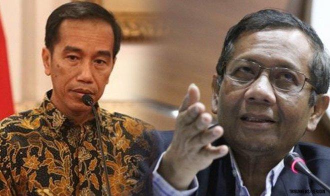 Jokowi ke Mahfud MD: Bagaimana itu Kasus Novel Baswedan? Saya Loh yang Dibully!