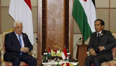 Jokowi-Mahmoud Abbas Bahas Isu Pencaplokan Tanah Palestina Oleh Israel