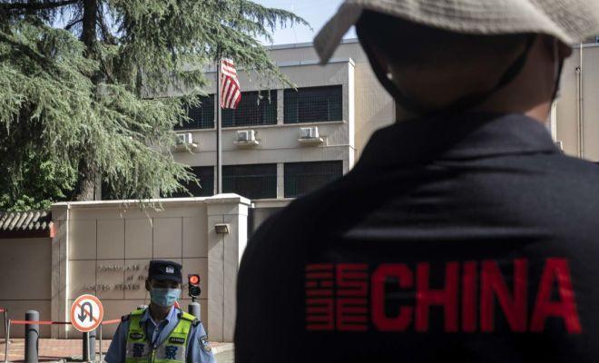 Konsulat AS di Chengdu Mulai Berkemas