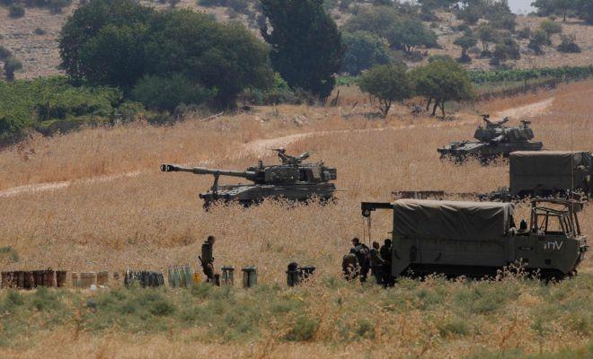 Pasukan Israel Baku Tembak dengan Hizbullah di Perbatasan