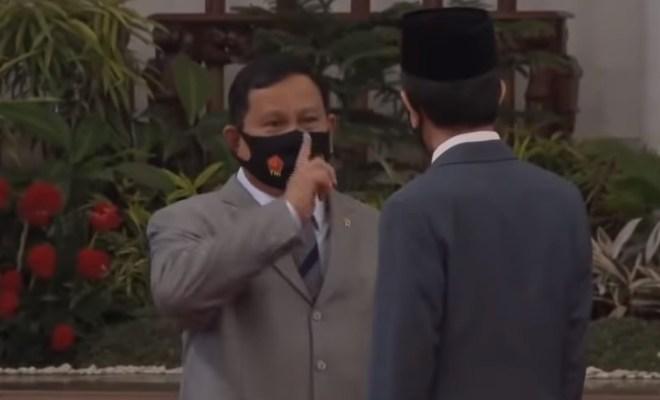 Setelah Video Jokowi Marah Viral, Kini Giliran Prabowo Bikin Jokowi Ketawa Ngakak Jadi Perhatian