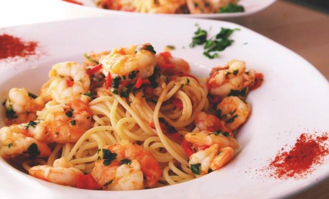 Resep Spageti Udang Saus Thailand, Praktis untuk Makan Malam