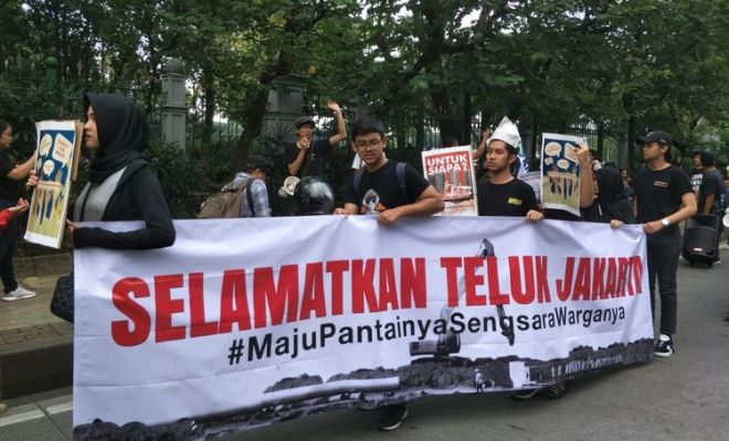 Kecewa Anies Langgar Janji Kampanye, Relawan Minta Segera Batalkan Izin Reklamasi Ancol