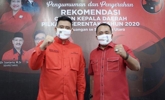 Waduh! Pencalonan Menantu Jokowi untuk Pilkada Medan Ternyata Ditolak Kader Senior PDIP