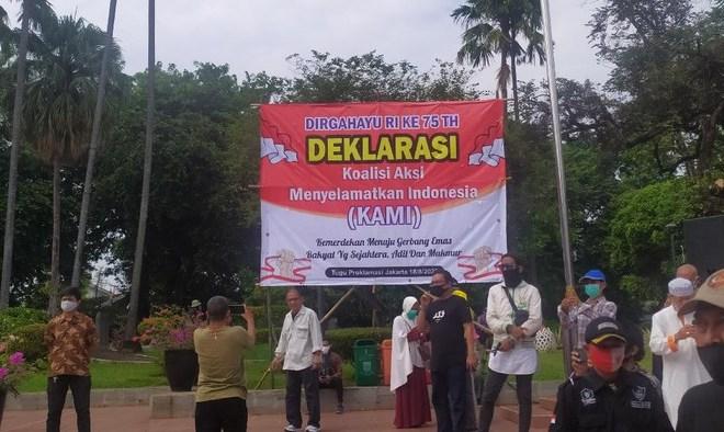 Tak Hanya Kritik Ibu Kota Baru, KAMI Juga Serang Prabowo