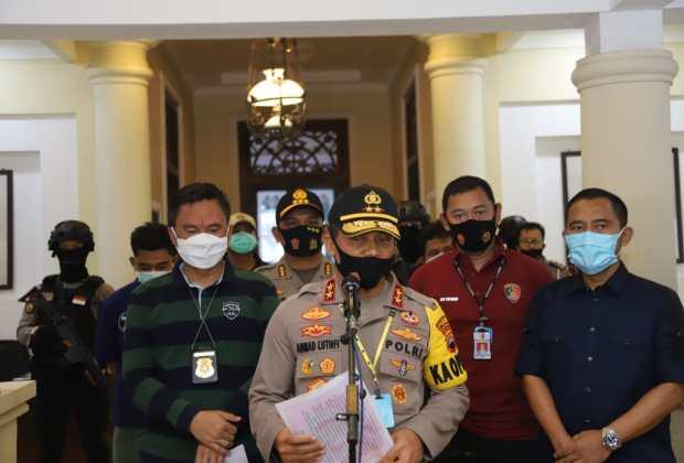 TIKTAK.ID - Kapolda Jateng Tegaskan Tak Ada Tempat untuk Kelompok Intoleran di Wilayah Hukum Jawa Tengah