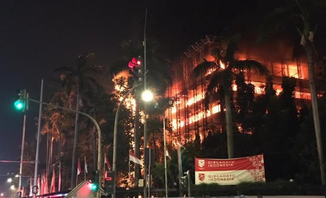 Amien Rais Duga Pelaku Pembakaran Kantor Kejagung Orang Dalam, Atas Suruhan 'MTC'