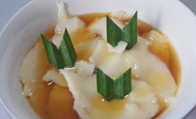 Kuah Jahe Dipadu Kembang Tahu Jadi Dessert Tradisional Indonesia
