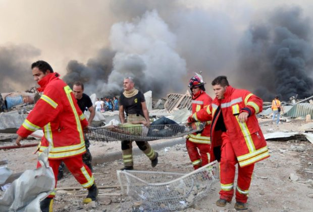 TIKTAK.ID - Ledakan di Beirut, Ratusan Orang Hilang