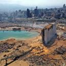 Ledakan di Beirut Ciptakan Kawah Sedalam 43 Meter