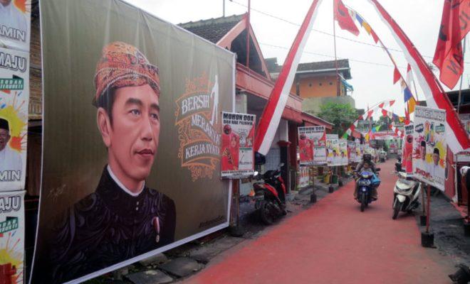 TIKTAK.ID - Aneh, Istana Larang Semua Instansi Pemerintah Pajang Gambar Jokowi di Atribut 17 Agustusan