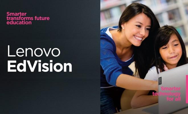 Dorong Transformasi Digital Sektor Pendidikan, Lenovo Gagas Program EdVision